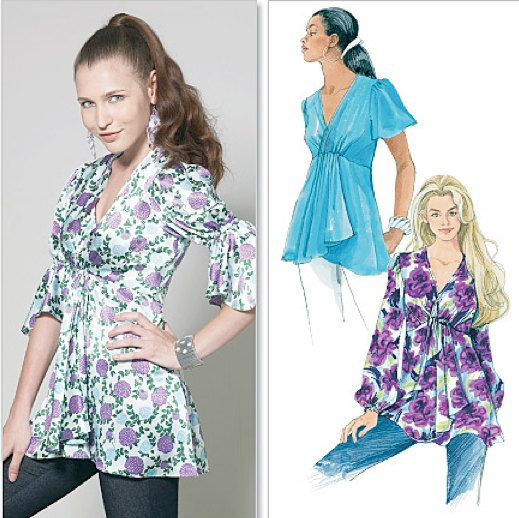 LAURA ASHLEY TOPS Sewing Pattern Peasant Boho by patterns4you, via Etsy.