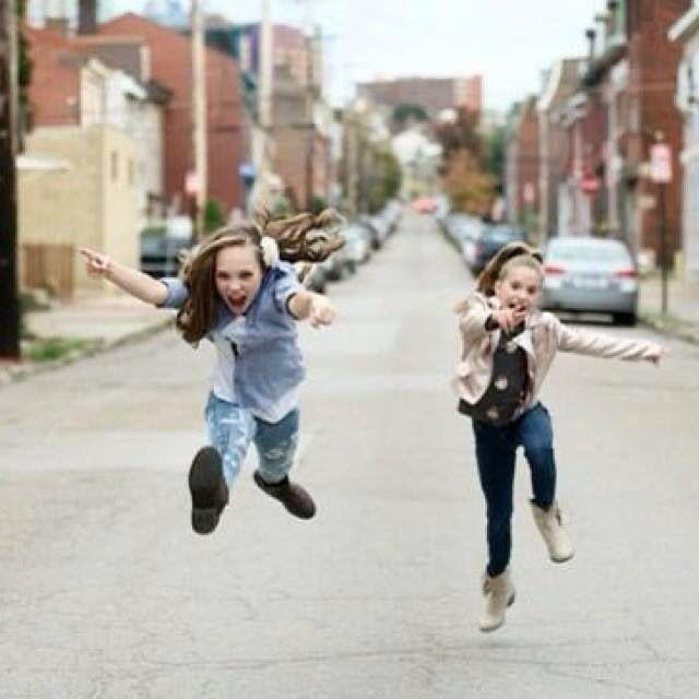 Maddie and Kenzie Ziegler