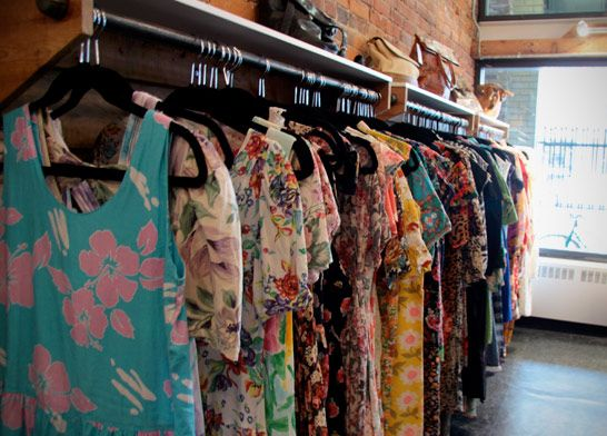 Vintage Shopping In Canada Best Stores Of Toronto Victoria Vancouver Clothing Store Design Vintage Boutique Vintage Shops