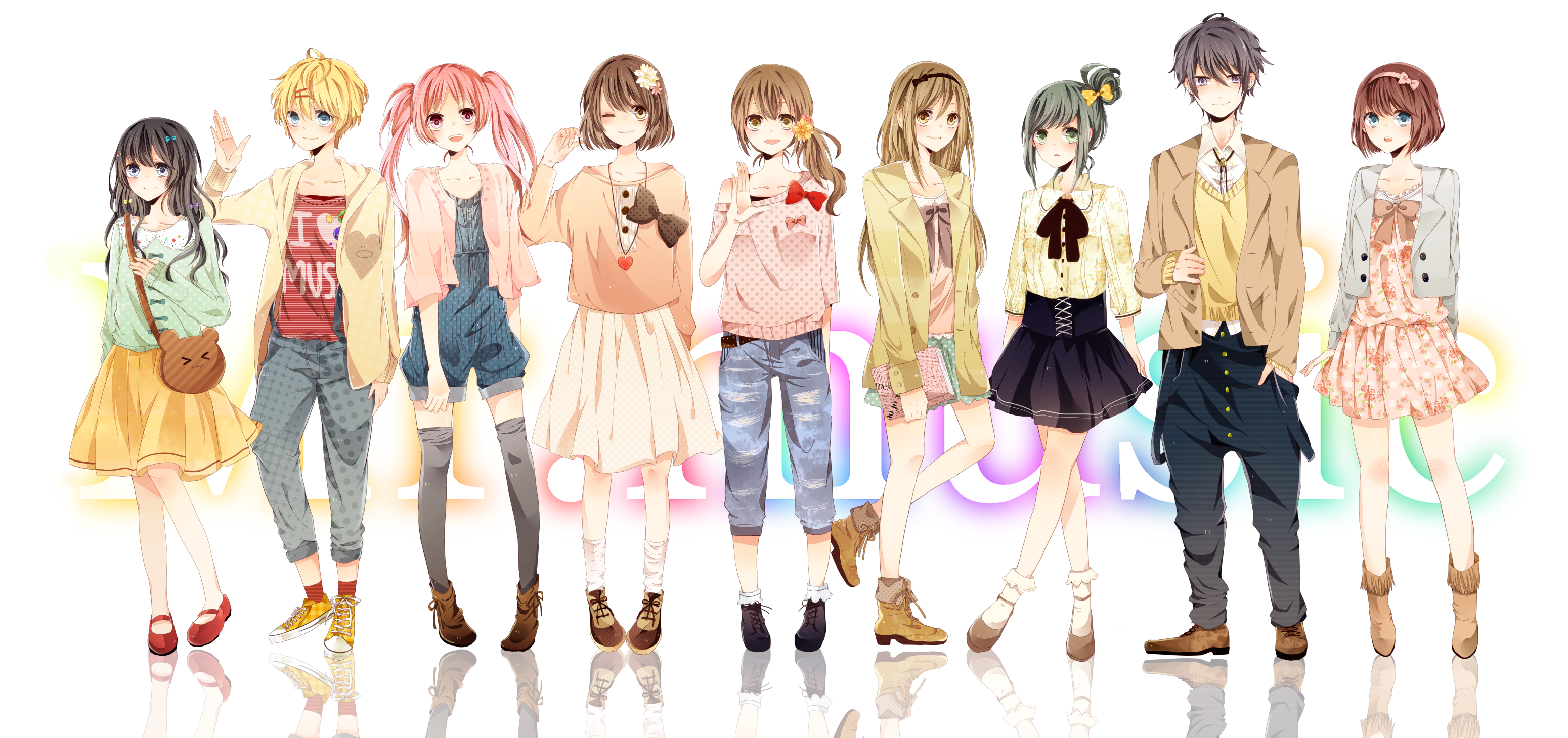 Anime Girl Clothes