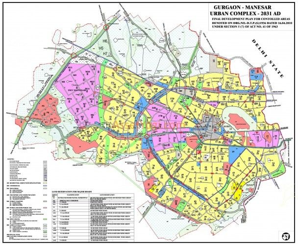 Gurgaon Master Plan 2031 Pdf