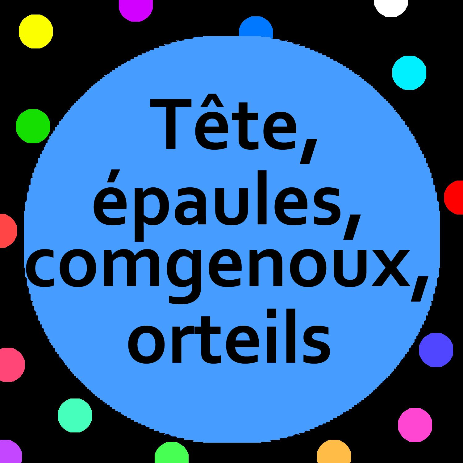 Tete Epaules Genoux Orteils Song With Song Lyrics