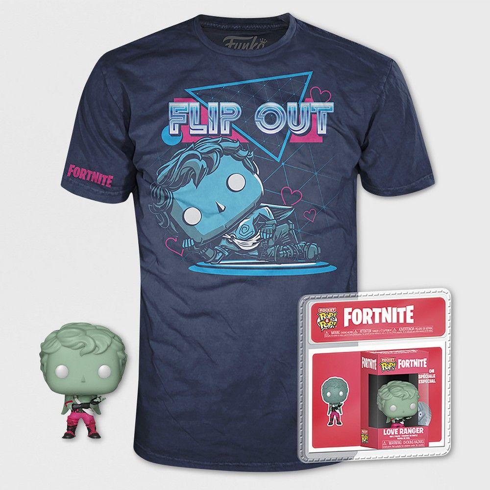 dd5943e0 Kids' Funko Pop! Fortnite: Love Ranger Short Sleeve T-Shirt - Navy ...