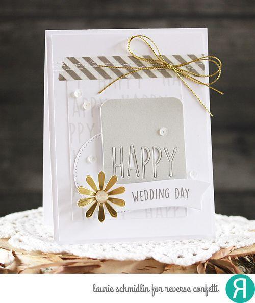 Happy Wedding Day by Laurie Schmdlin