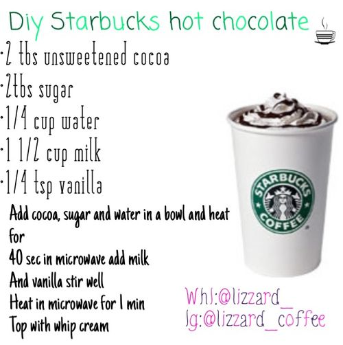 Starbucks diy!! uploaded by Liz on We Heart It #healthystarbucksdrinks