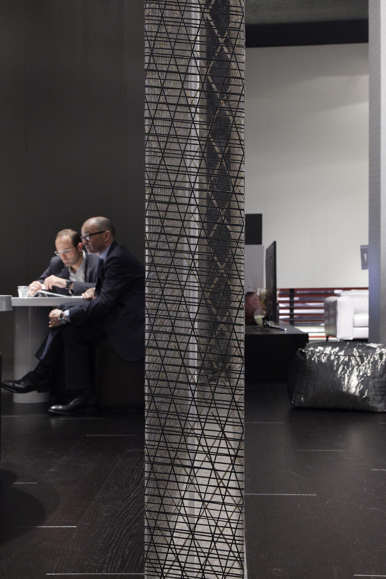 I MESH Profile @Natuzzi Italian Furniture Company Booth During Salone Del  Mobile 2013 Visit