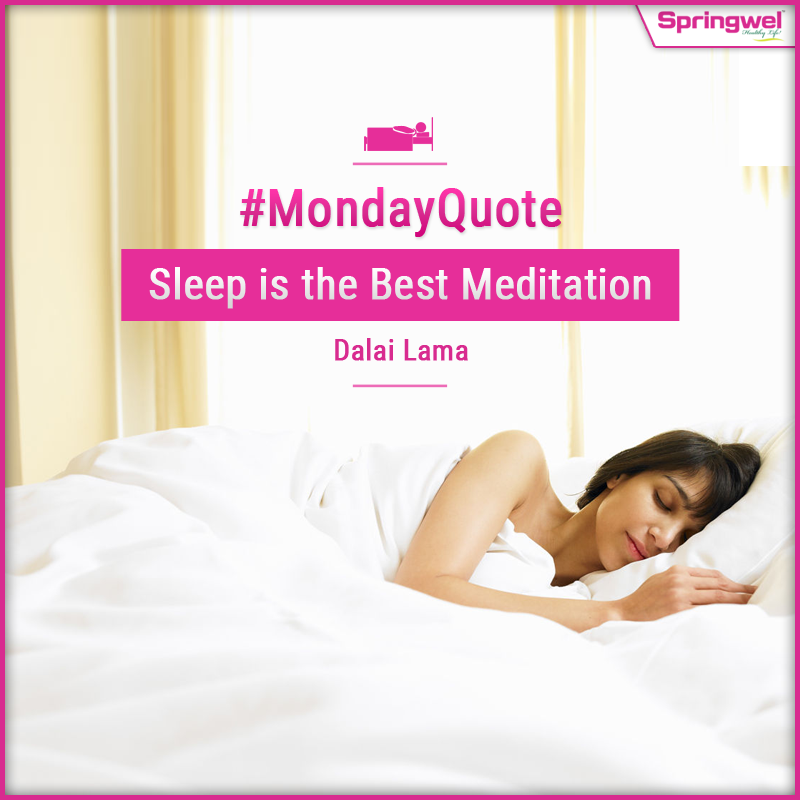 MotivationalMonday‬ Sleep‬ is the best meditation