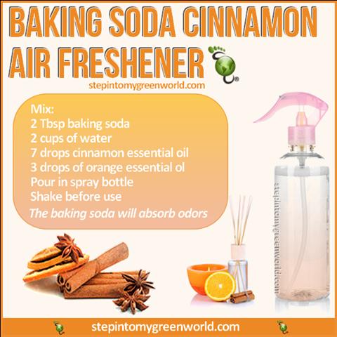 Baking Soda Cinnamon air Freshener