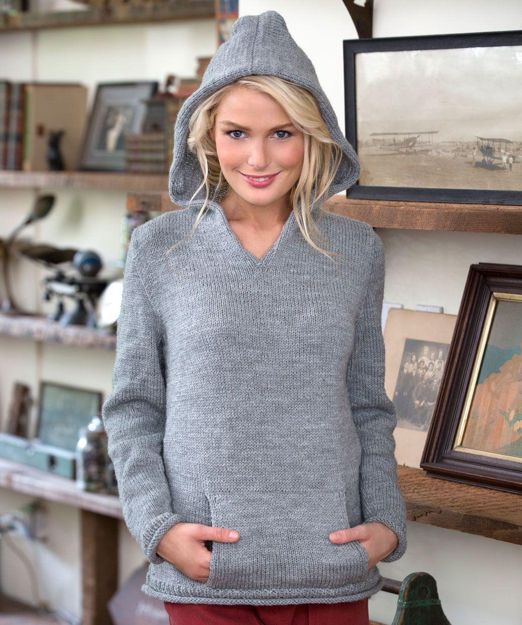 Unser gemütlicher Pullover ist eine edle Variante des eher ...