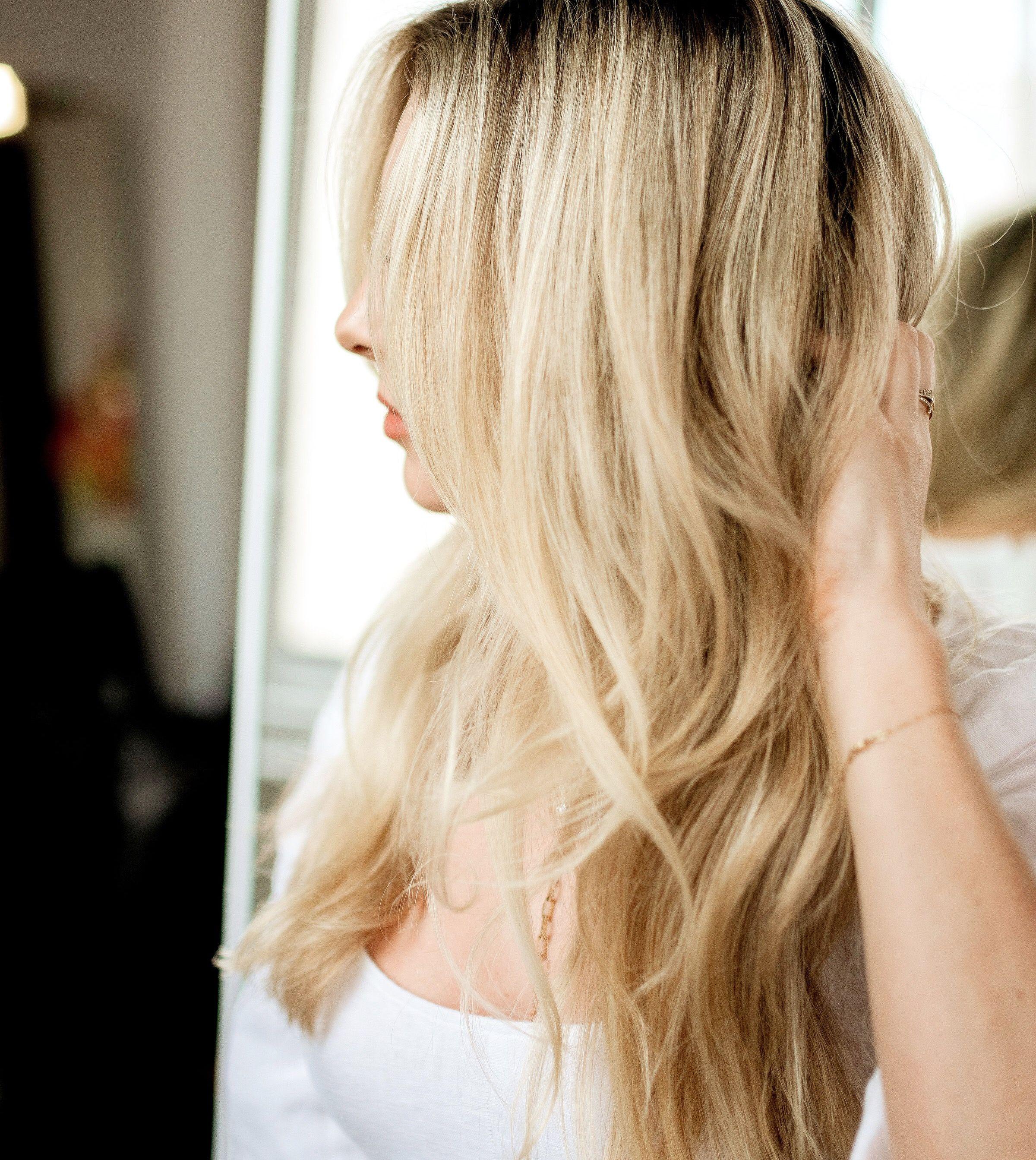 Blonde hair by LRN