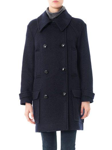 Isabel Marant Etoile Double Breasted Pea Coat