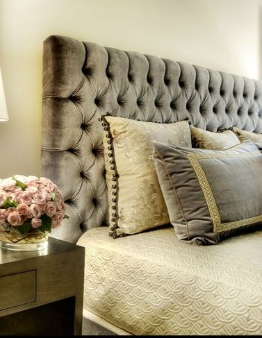Donald Headboard With Diamond Tufting Want This In A King