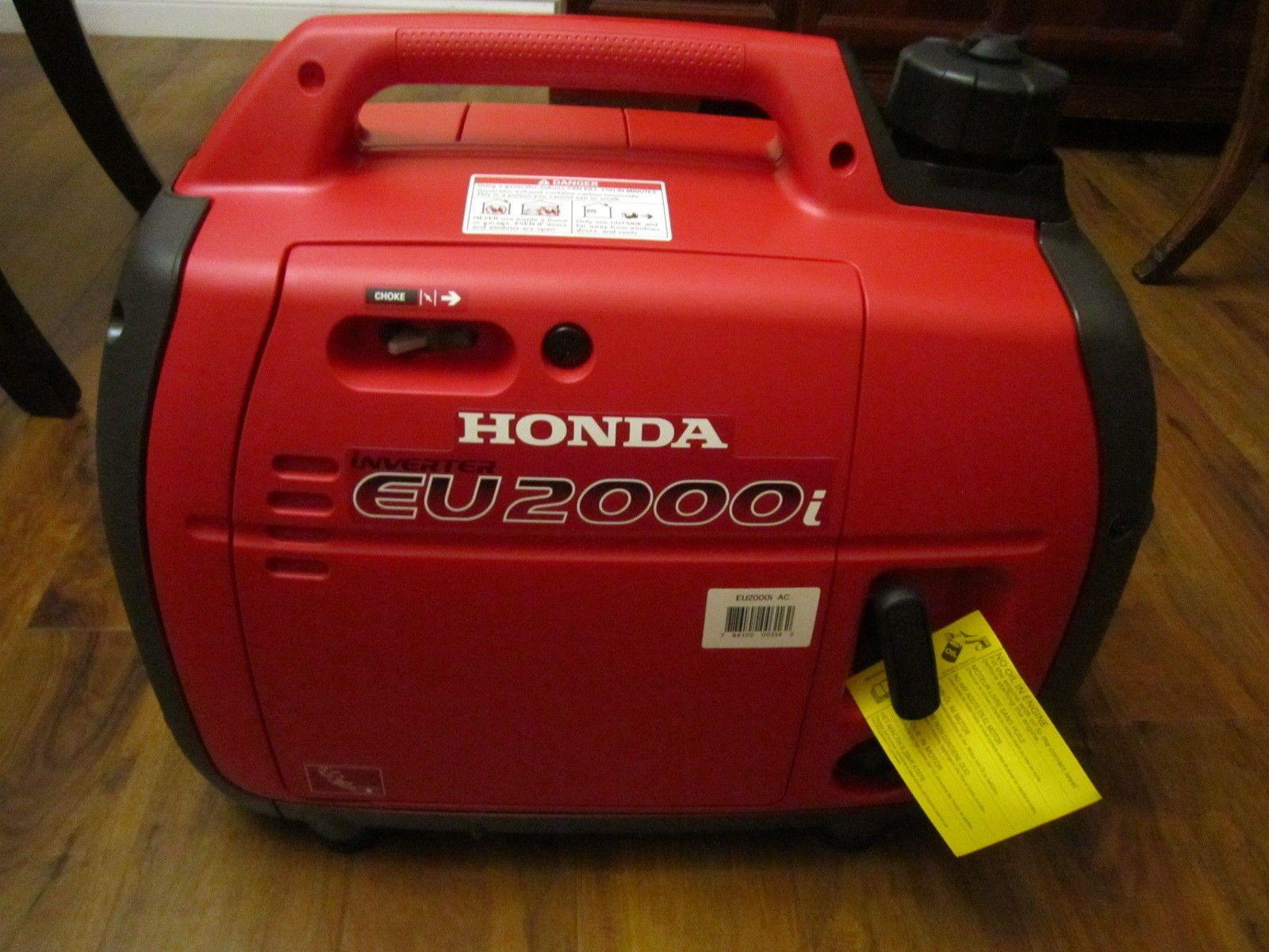 Honda Portable Generator Super Quiet 2000W Inverter Free Shipping