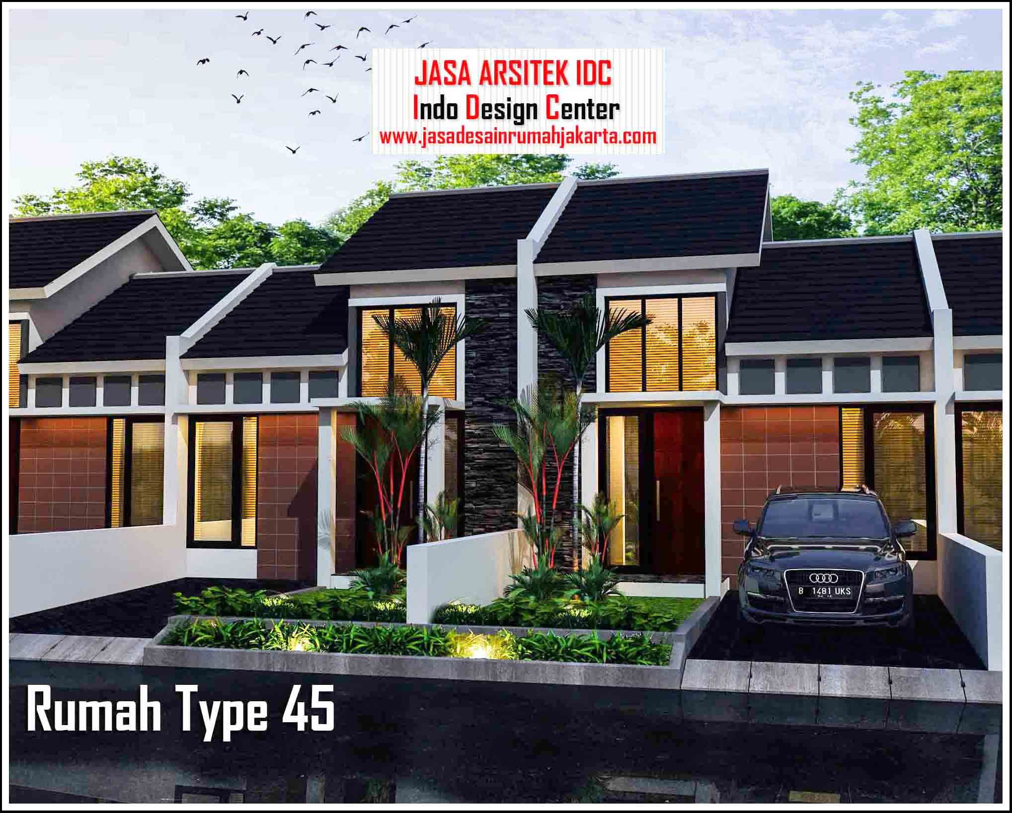 Desain Rumah Minimalis Type 45 Desain Rumah 06 Home Fashion Desain Rumah Rumah