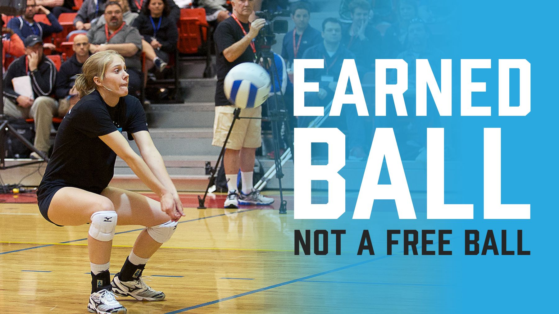 Make It An Earned Ball Not A Free Ball The Art Of Coaching Volleyball Volleyball Drills Coaching Volleyball Youth Volleyball