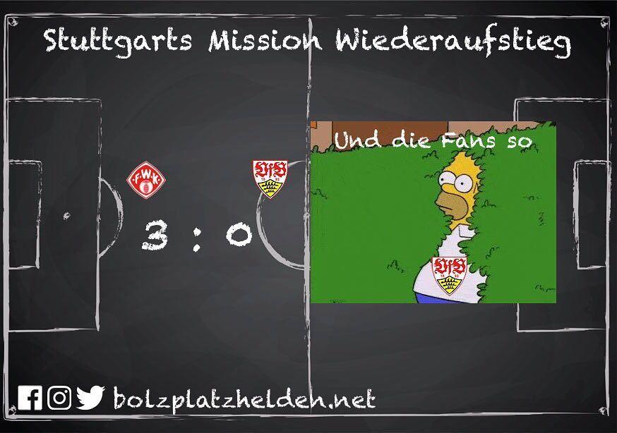 Stuttgart arbeitet weiterhin an der Mission Wiederaufstieg .... not. Glücklicherweise ist die Weihnachtsfeier ausgefallen  #fwkvfb
