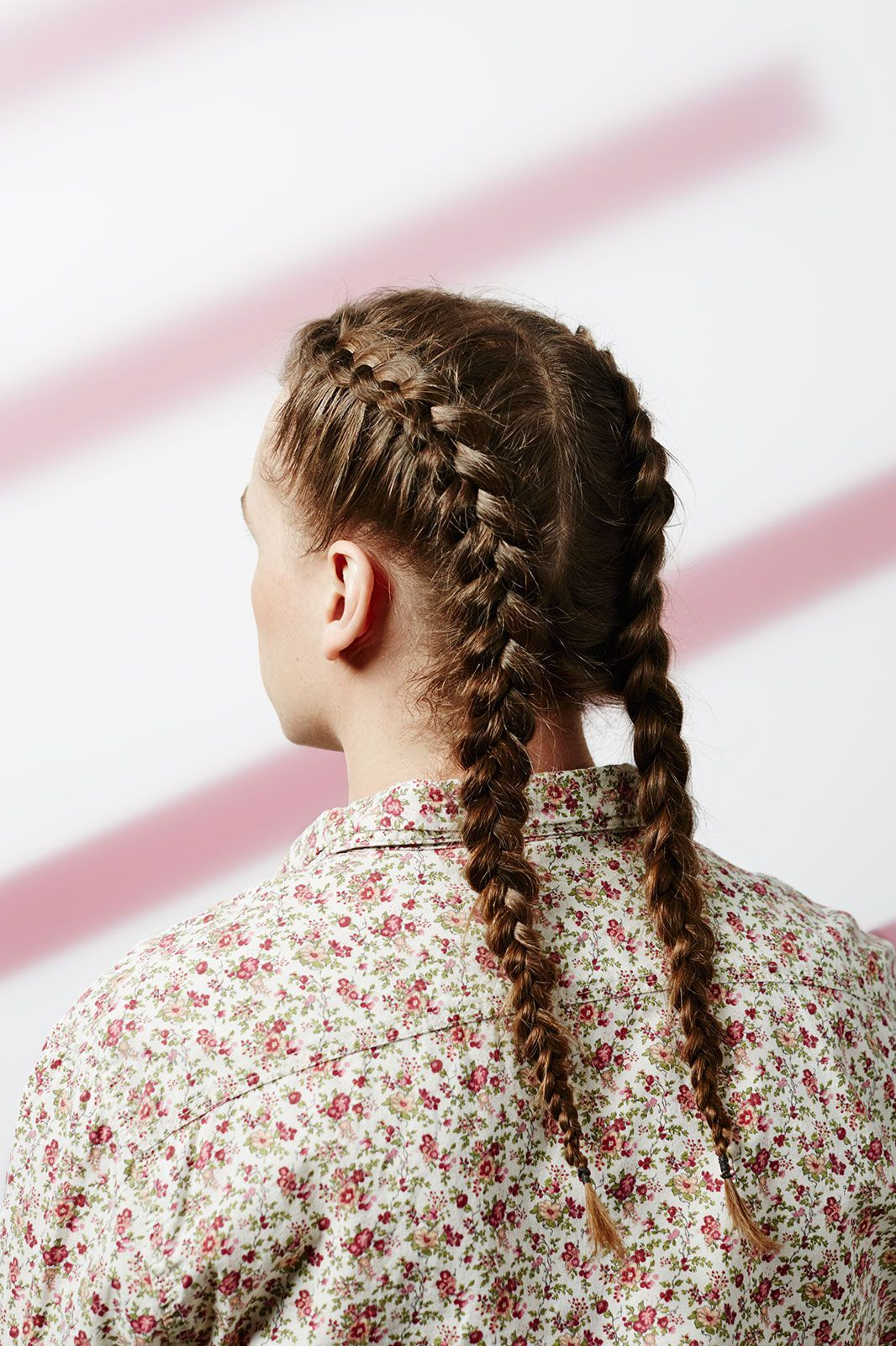 """Spring's Prettiest Hairstyles — With A Twist #refinery29  http://www.refinery29.com/men-updo-hairstyles#slide-1  Double DutchBraids are definitely not a """"hot new trend"""" (on women or men). And this season especially, two is always better than one. We're seeing pigtail braids everywhere — including on the youngest <a href=""""http://www.refinery29.com/2016/04/107637/khloe-kardas..."""
