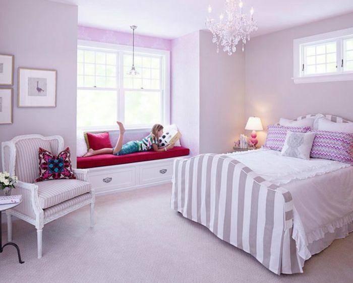 Die Lavendel Farbe   Ein Tribut An Die Reinheit Und Den Ewigen Sommer.  Lavendel Farbe Hell Lila Schlafzimmer