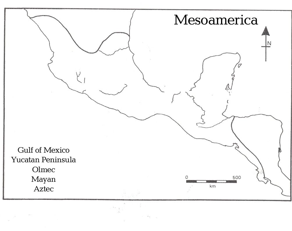 Mesoamerica map cc1 week 18 classical conversations pinterest mesoamerica map cc1 week 18 gumiabroncs Image collections