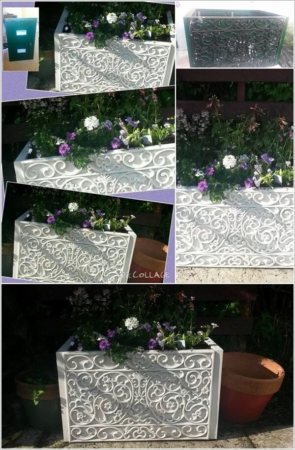 Cool and Creative Recycled Furniture Planter Ideas 6 #recyclingfurniture