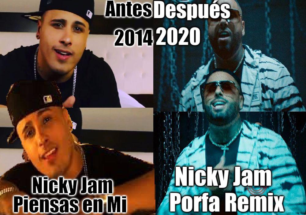 Pin By Solmarie Garcia On Music Video Nicky Jam Music Videos Music Baseball Cards