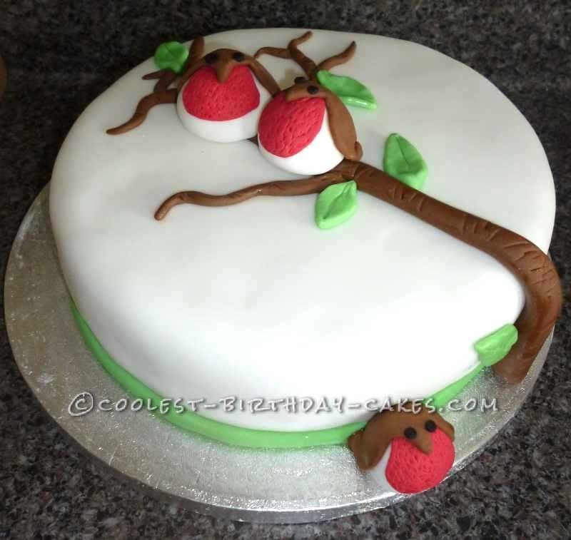 Christmas Cake Decoration Ideas Pinterest