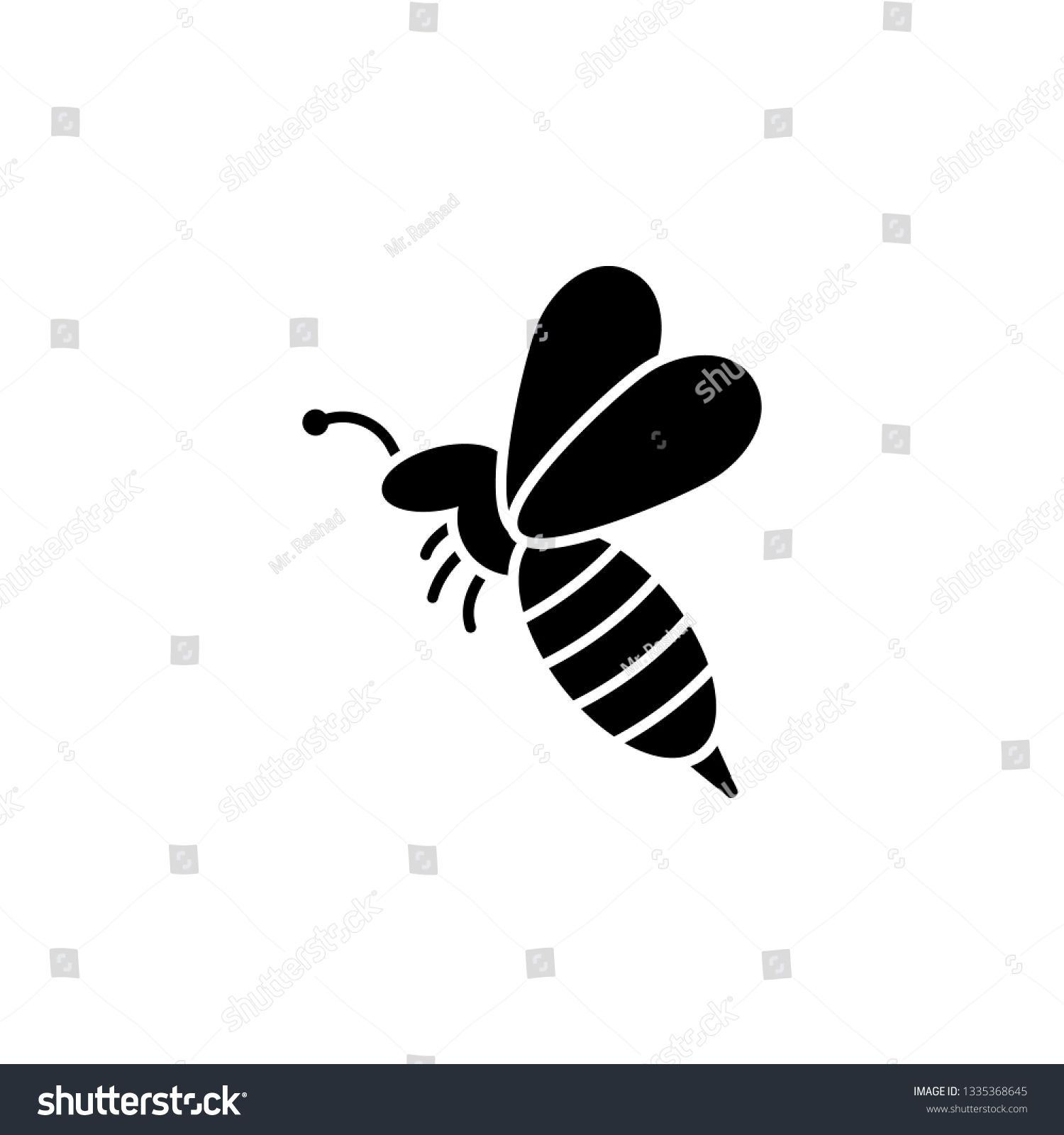Bee Wasp Icon Element Of Beekeeping Icon Premium Quality Graphic Design Icon Signs And Symbols Collection Icon For Websites We Bee Bee Keeping Icon Design