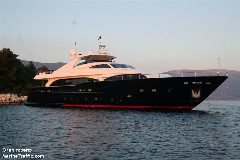 Thank You To The Captain Of The 34m Custom Line Yacht Built Nati Tre