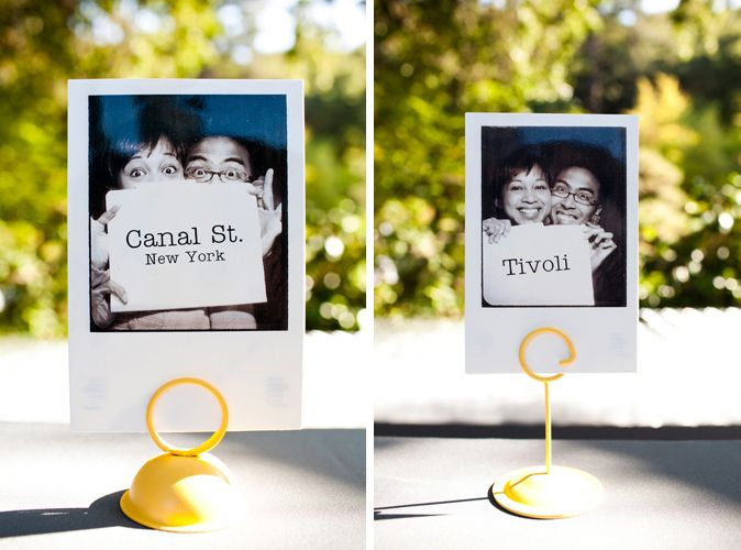 10 ways to personalize your wedding photo table numbersunique