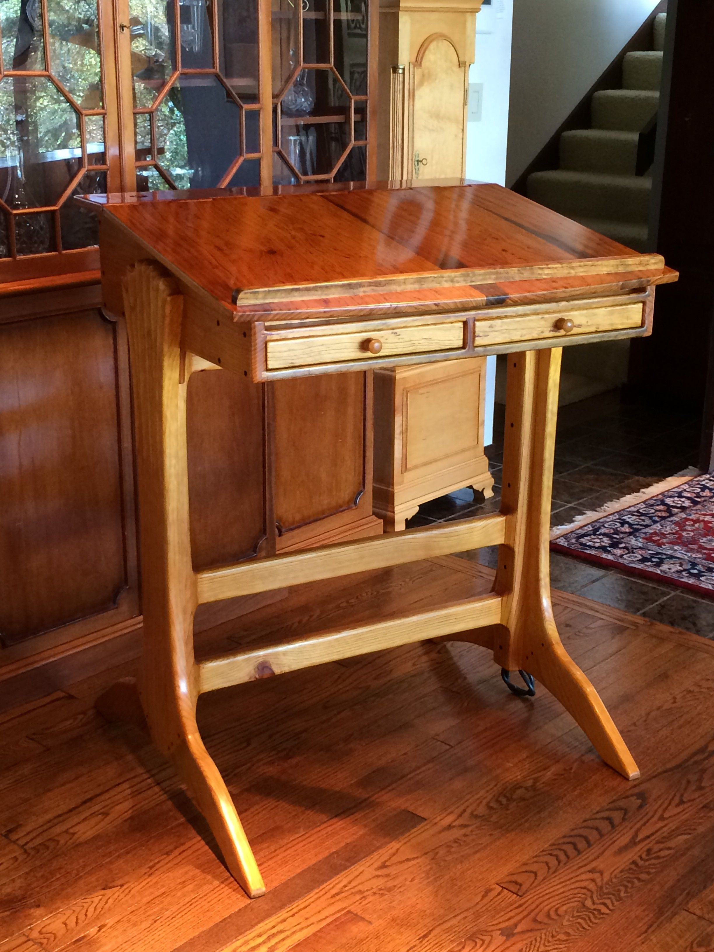A Sculptured Stool Fine Woodworking Furniture I Like