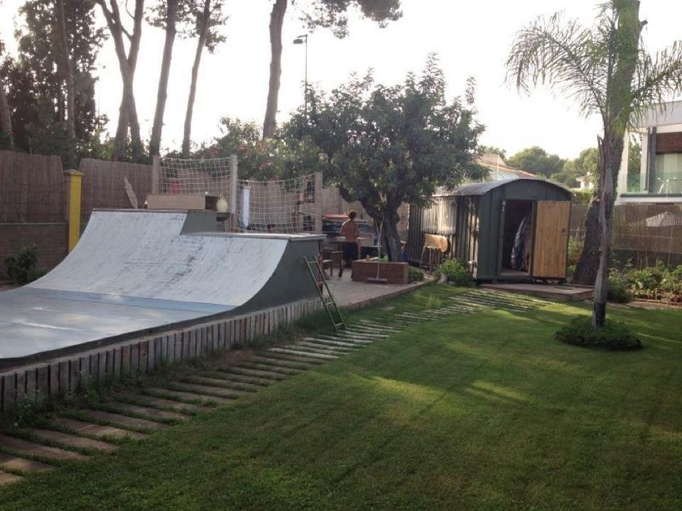 Backyard Skateboard Ramps   Outdoor Goods