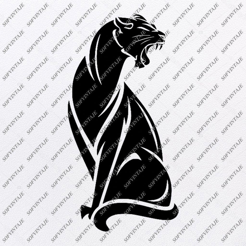 Black Panther Svg File Panther Svg Design Animals Svg