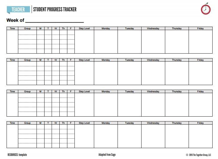 Student Tracker Template from i.pinimg.com