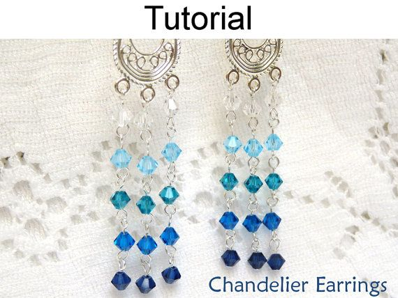 Jewelry Making Pattern Earring Tutorial by SimpleBeadPatterns