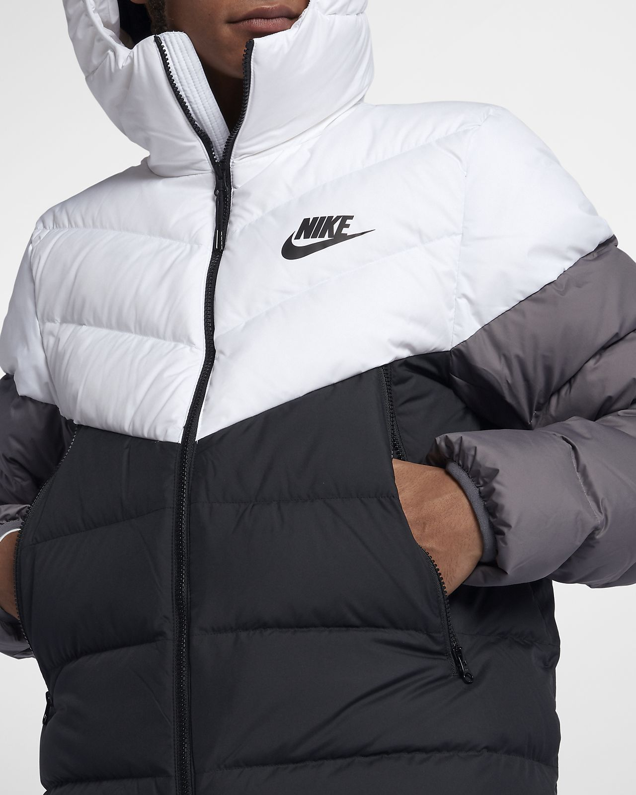 Nike Sportswear Windrunner Down Fill Hooded Puffer Jacket Nike Com Nike Sportswear Puffer Jackets Jackets [ 1600 x 1280 Pixel ]