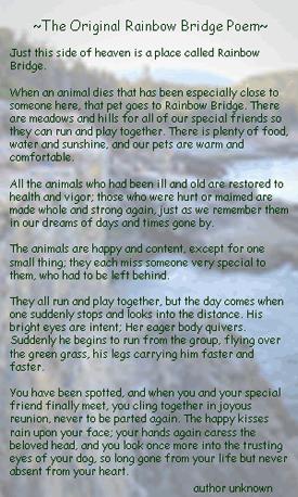 the bridge poem