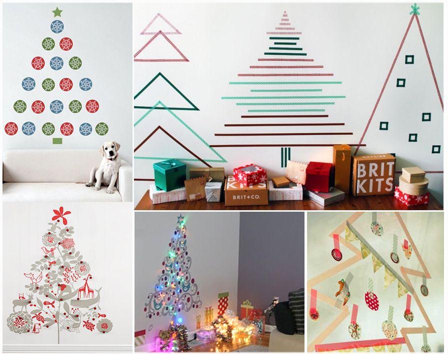 Rboles de navidad sin arbol una manualidad para ni os y - Manualidad ninos navidad ...