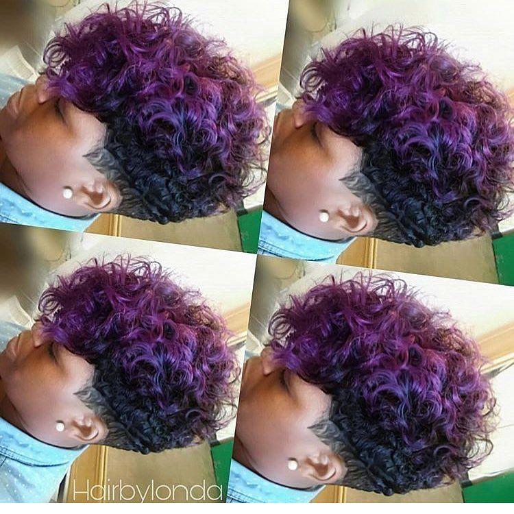 678 Likes 30 Comments Yolanda Hairbylonda On Instagram Play Up Your Pixie Hairbylonda Ohiohair Short Hair Styles Hair Styles Quick Weave Hairstyles
