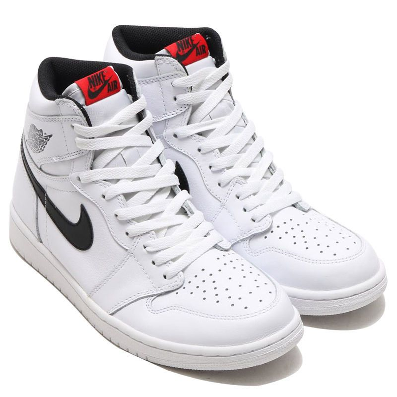 info for 04198 48eee Jordan Retro 1 High OG White Black Red Yin Yang Sz 7 5 13 555088 102   eBay