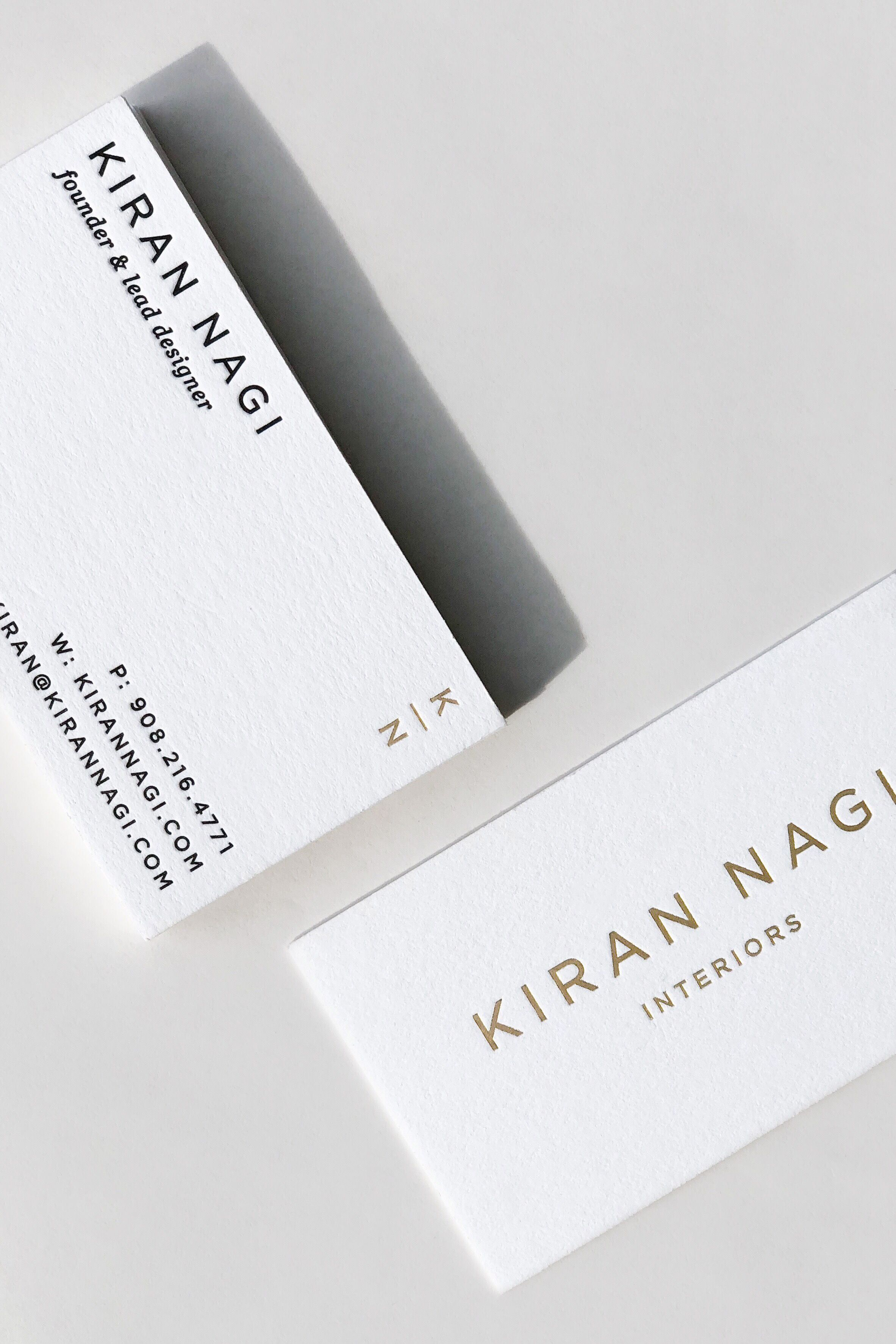 In Love With These Minimalist Letterpress Business Cards Minimalist Business Cards Decorator Business Card Design Business Card Ideas