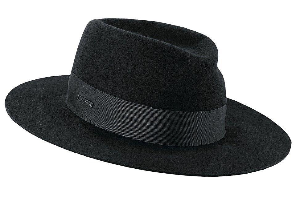 Moderne zwarte hoed #ottonl #allblack