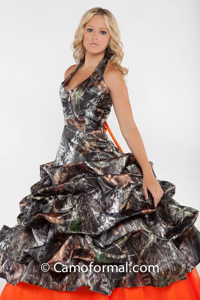 Camouflage Wedding Dress i love this one. | Paiges 16th Birthday ...
