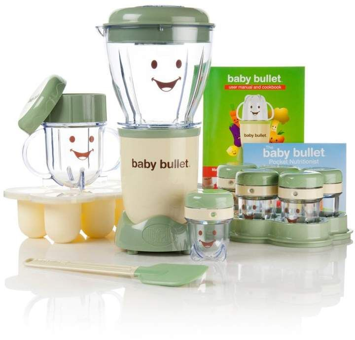 As seen on tv baby bullet 20piece baby food system with