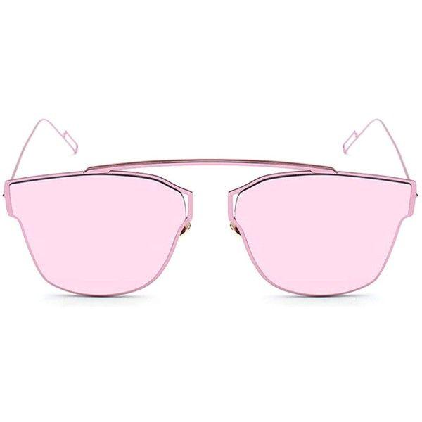 05bd757f5f Amazon.com  TIJN Rose Gold Metal Frame Women s Sunglasses... ( 24 ...
