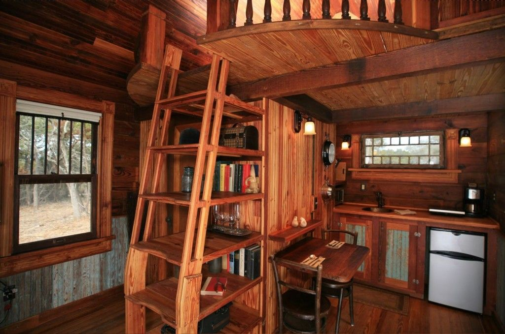 tiny houses interior. Canyon Lake House Interior Kitchen. Awesome Loft Stair And Storage. Tiny Houses
