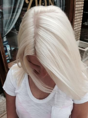 Frozen Inspired Ice Blonde Icy Blonde Hair Blonde Bob