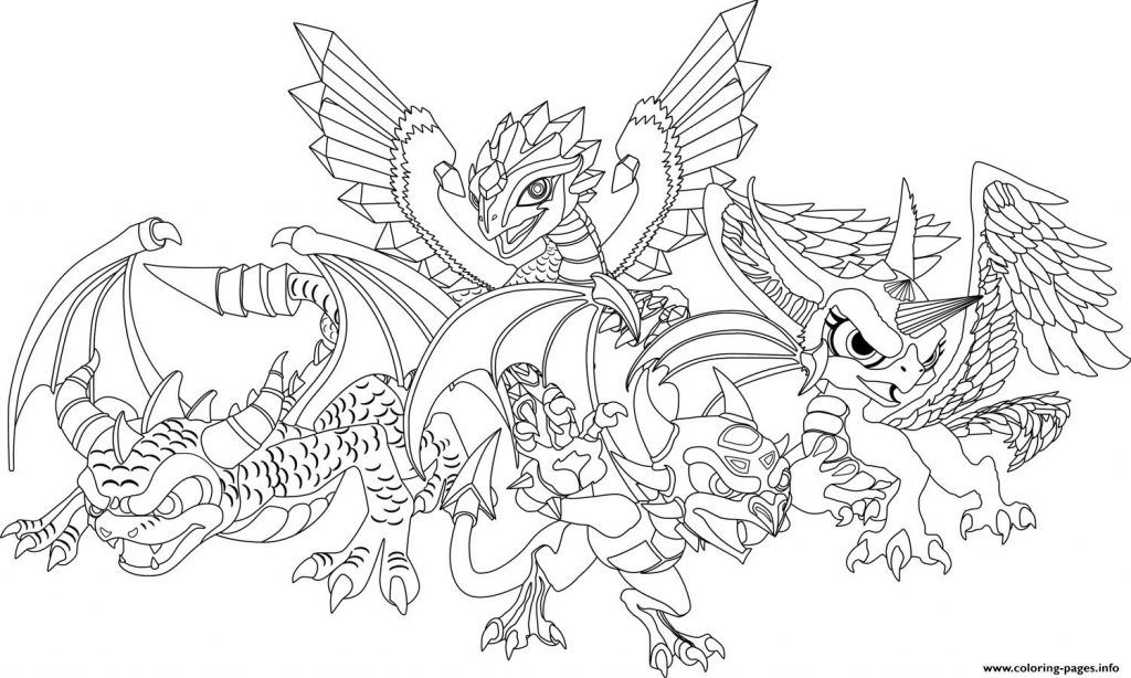 Enormous Dragon City Coloring Pages Official Dragon Coloring