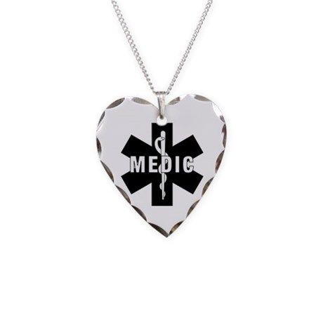 Medic ems star of life necklace medic ems star of life necklace on cafepress aloadofball Images