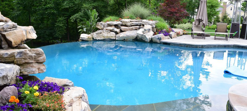 Landscape Masonary Supplies Featured Project Wyckoff Nj Pool Coping Landscape Projects Backyard Design