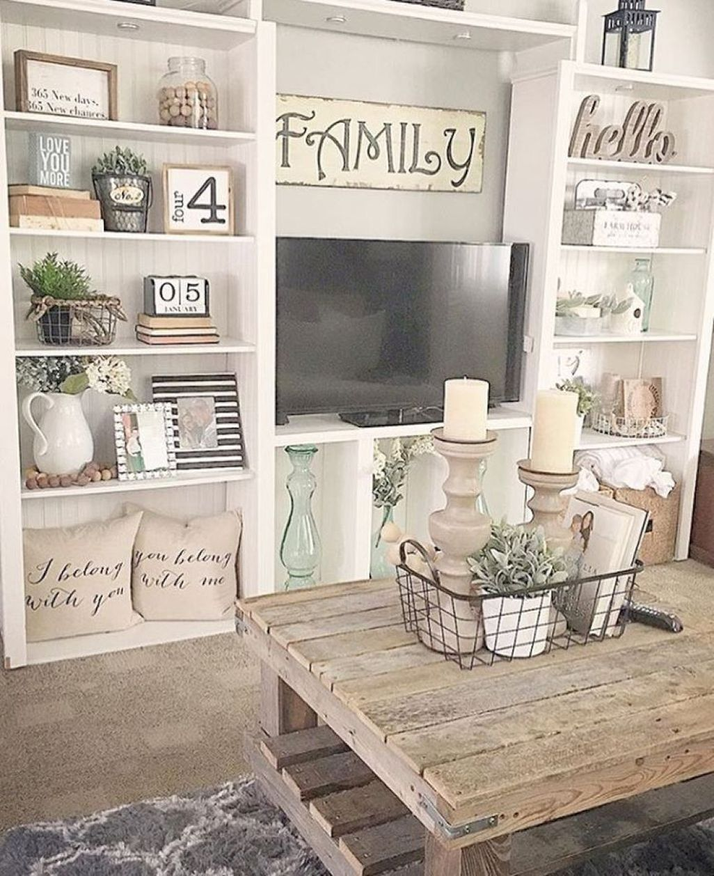 cute farmhouse decoration ideas suitable for spring and